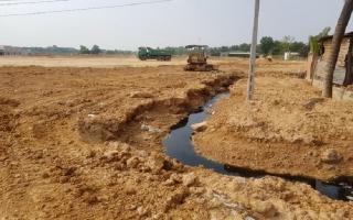 Ô nhiễm môi trường do thiếu đường tiêu thoát nước thải