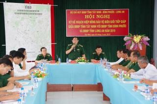 Ký kế hoạch hiệp đồng phối hợp bảo vệ biên giới tiếp giáp