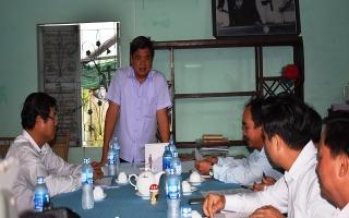 Thứ trưởng Bộ NNN&PTNT khảo sát HTX ở Tây Ninh