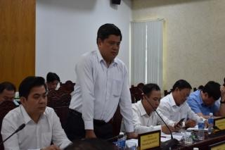 Thứ trưởng Bộ NN&PTNT làm việc với lãnh đạo tỉnh