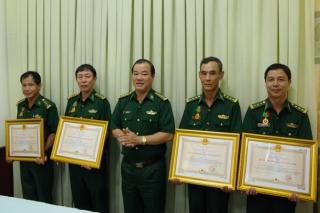 Trao Huân chương Bảo vệ Tổ quốc hạng III cho cán bộ BĐBP Tây Ninh