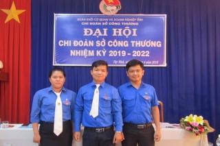 Đại hội Chi đoàn Sở Công thương nhiệm kỳ 2019 – 2022