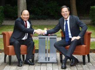 Thủ tướng Vương quốc Hà Lan bắt đầu thăm chính thức Việt Nam