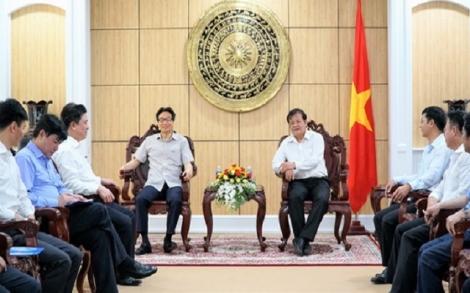 Phó Thủ tướng Vũ Đức Đam thăm, làm việc tại Tây Ninh