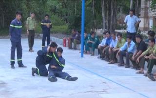 Huấn luyện nghiệp vụ phòng chống cháy rừng và cứu nạn cứu hộ