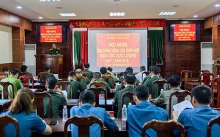 Tân Châu: Giao ban công tác phối hợp giữa các lực lượng