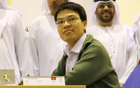 Quang Liêm trở lại nhóm Siêu đại kiện tướng