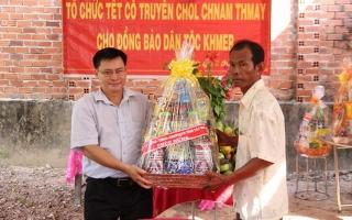 Chúc tết cổ truyền Chol Chnam Thmay ở Xóm Tháp – Tân Phong