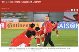 HLV Park Hang-seo: 'Bóng đá Việt Nam sẽ còn thành công hơn nữa'