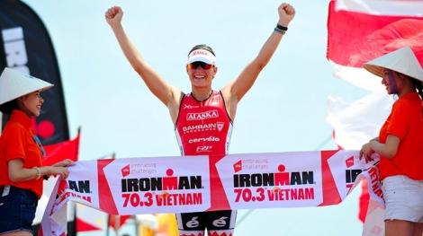 Hơn 2.200 VĐV quốc tế tham gia giải Ironman 70.3 vô địch châu Á - Thái Bình Dương tại Đà Nẵng