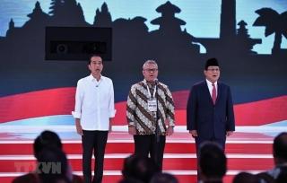 Bầu cử Indonesia: 2 cặp ứng viên tranh luận trực tiếp lần cuối