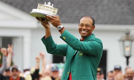 Tiger Woods vô địch Masters 2019