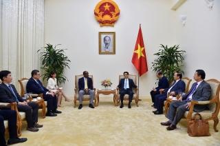 Phó Thủ tướng Vũ Đức Đam tiếp Phó Tổng thống Cộng hòa Seychelles