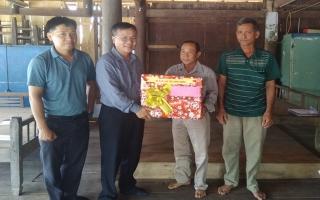 Ủy ban Dân tộc: Thăm, chúc tết đồng bào Khmer huyện Tân Châu