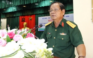 Bộ CHQS sơ kết công tác phối hợp hoạt động tuyên truyền với Báo, Đài