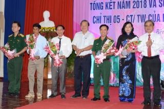 Bến Cầu: Tổng kết công tác xây dựng Đảng và sơ kết 3 năm thực hiện Chỉ thị 05 của Bộ Chính trị