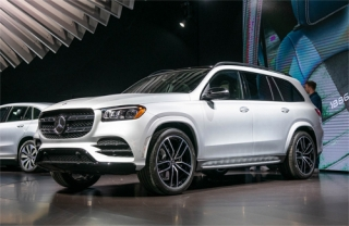 GLS thế hệ mới - xe SUV sang nhất của Mercedes ra mắt