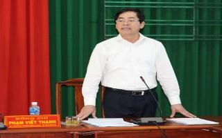 Bí thư Tỉnh uỷ làm việc với lãnh đạo huyện Gò Dầu