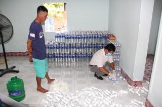 Phát hiện Cơ sở sản xuất nước uống đóng chai chưa đảm bảo vệ sinh