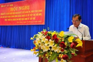 Tổng kết 15 năm thực hiện Nghị quyết Trung ương 5 (khoá IX) về tiếp tục đổi mới, phát triển và nâng cao hiệu quả kinh tế tập thể