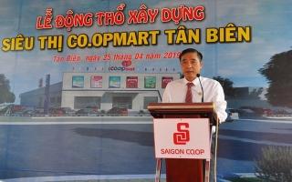 Co.opmart khởi công xây dựng siêu thị tại Tân Biên