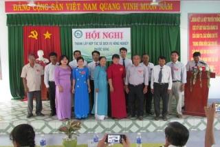Thành lập HTX dịch vụ nông nghiệp Phước Đông và Long Thành Bắc