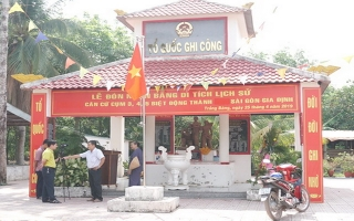 Thăm Căn cứ Biệt động thành Sài Gòn - Gia Định