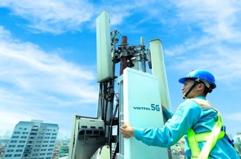 Viettel phát trạm 5G đầu tiên