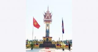 Khánh thành Đài Hữu nghị Việt Nam - Campuchia ở Tây Bắc Campuchia