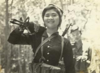 Nhân dân Tây Ninh vui đón hoà bình trên quê hương giải phóng