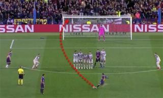 Messi thừa nhận 'ăn may' với cú sút phạt vào lưới Liverpool