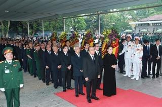 Cử hành lễ viếng, lễ truy điệu nguyên Chủ tịch nước Lê Đức Anh