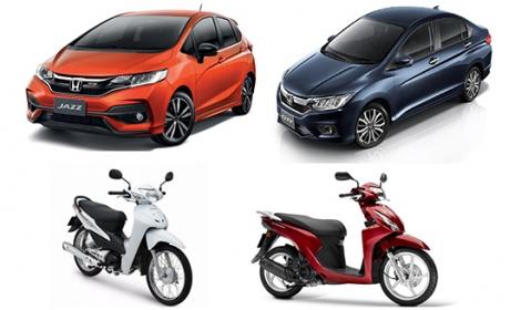 Bộ Tài chính công bố bảng giá tính lệ phí trước bạ ô tô, xe máy mới