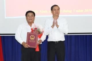 Trao Quyết định nghỉ hưu cho Phó Giám đốc Sở Tài chính