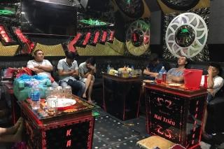 Phát hiện hàng chục khách dương tính ma túy trong quán Karaoke Hải Triều