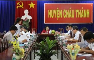 Thường trực HĐND tỉnh khảo sát hoạt động khai thác khoáng sản tại Châu Thành