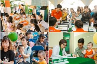 Trẻ em 12 tỉnh, thành được phát sữa, khám dinh dưỡng miễn phí