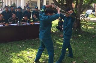Hoà Thành: Khai mạc Hội thao Thể dục thể thao quốc phòng