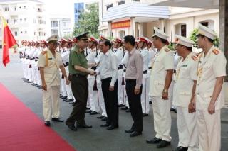 Bộ trưởng Bộ Công an Tô Lâm làm việc tại Tây Ninh