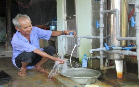 UBND tỉnh: Ban hành biểu giá tiêu thụ nước sạch khu vực nông thôn