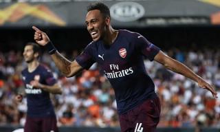 Hat-trick của Aubameyang đưa Arsenal vào chung kết Europa League