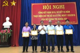 Hoà Thành, Châu Thành sơ kết 3 năm thực hiện Chỉ thị 05 của Bộ Chính trị