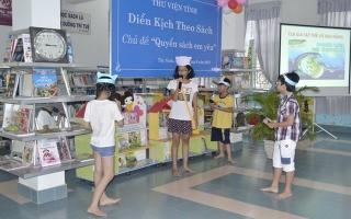 Thư viện tỉnh: Tổ chức nhiều hoạt động cho thiếu nhi trong dịp hè