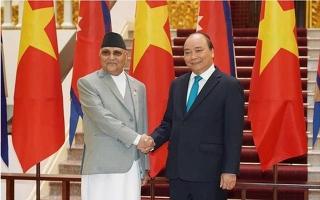 Việt Nam - Nepal nhất trí đẩy mạnh mở cửa thị trường nông sản