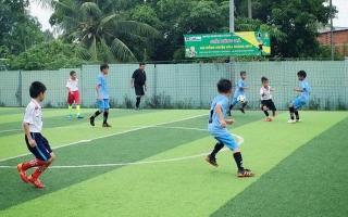 Hoà Thành tổ chức Giải bóng đá nhi đồng 2019