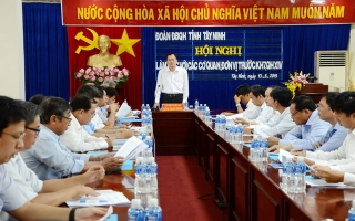 Đoàn ĐBQH tỉnh tiếp xúc cử tri trước kỳ họp thứ 7, Quốc hội khóa XIV