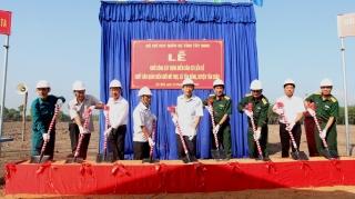 Khởi công xây dựng điểm dân cư liền kề chốt dân quân biên giới Mít Mọi