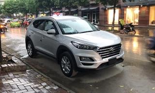 Hyundai Tucson mới xuất hiện trên đường phố Hà Nội