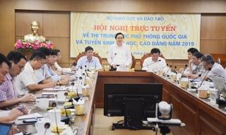 Kỳ thi THPT quốc gia năm 2019: Nỗ lực để kỳ thi diễn ra trung thực, khách quan