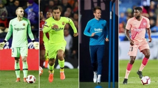 Barca cần 300 triệu USD để cải tổ đội hình trong hè 2019